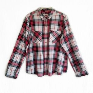 SO plaid top size xlarge